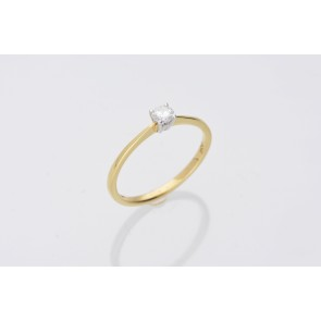0.20ct Diamond Solitaire Ring