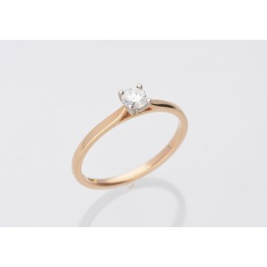 0.26ct Diamond Solitaire Ring