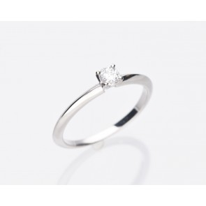 Platinum Solitaire Ring 0.21ct