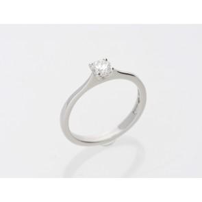 0.32ct Round Brilliant Platinum Ring