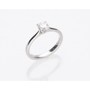 Platinum 0.71ct E Colour Solitaire Ring