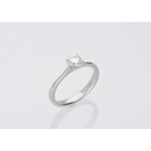 0.60ct Platinum Solitaire Ring