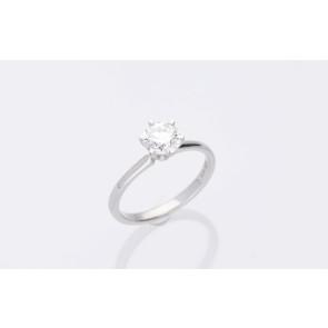 1.01ct Platinum Solitaire Ring