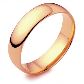 18ct Rose Gold 3mm Wedding Ring