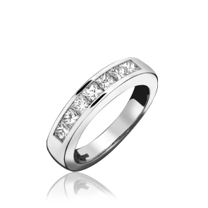Platinum 7 Stone 1.01ct Eternity Ring