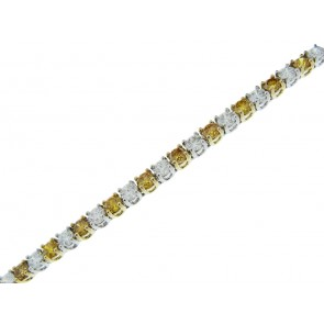 7.17ct 18ct Gold Diamond Necklace
