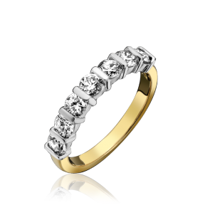 18ct Yellow Gold 0.50CT Eternity Ring