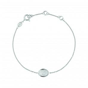 Dia Ess Pass Oval Bracelet