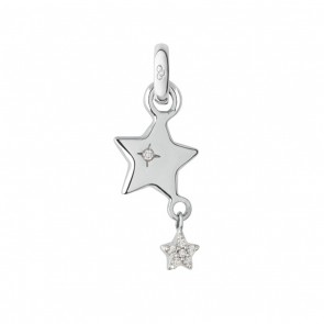 18ct White Gold Wish Upon a Star Charm