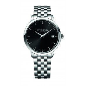 Toccata - Steel (Black Dial)