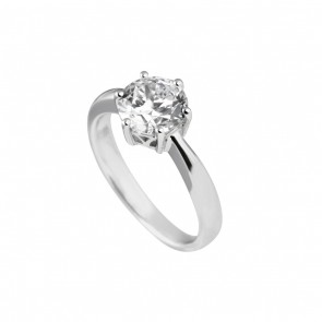 2 Carat Solitaire Ring