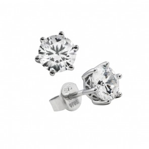 1 Carat Stud Earrings