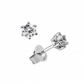 .25 Carat Solitaire Studearrings