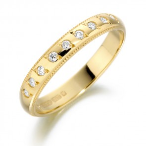 18ct Yellow Gold 2.5MM Ring