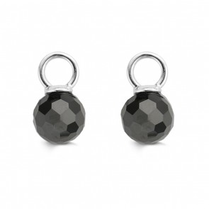 Ti Sento Milano - Black Ear Charms