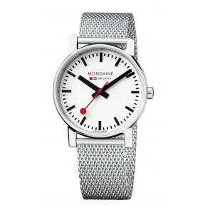 Mondaine Silver Steel Watch