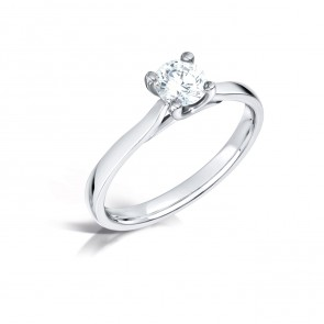 1.00ct Diamond 18ct White Gold Ring