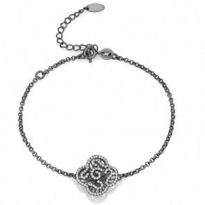 Cascade Mini Bracelet in Black Rhodium Vermeil