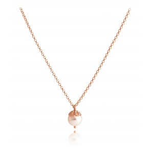 Emma-Kate Pendant in Rose Gold Vermeil