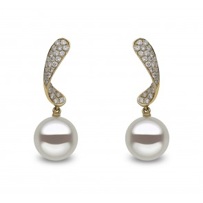 18ct Yellow Gold - Yoko Pearl Earring