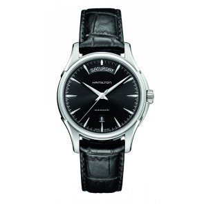Hamilton Day Date - Black Strap & Dial Watch