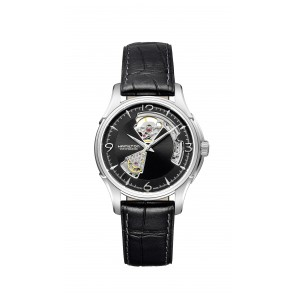 Jazzmaster Open Heart - Black Strap & Dial