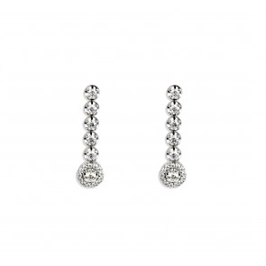 0.90ct Diamond Earrings