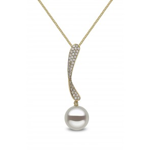 18ct Yellow Gold - Pearl Pendant