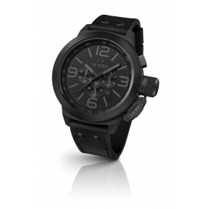 Black Chronograph TW Steel Watch