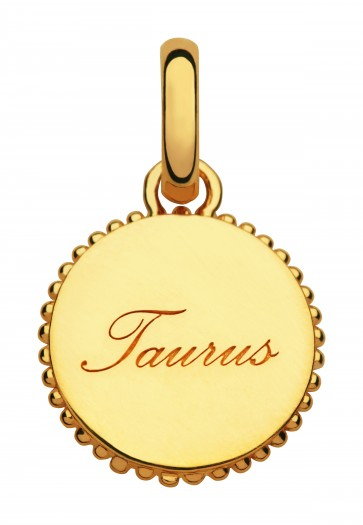 Zodiac Taurus Charm