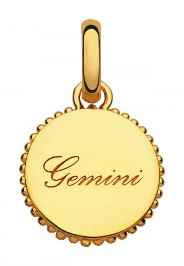 Zodiac Gemini Charm