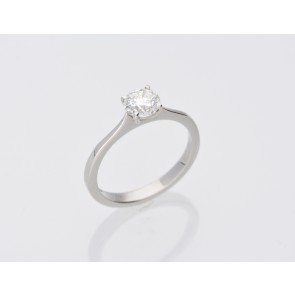 0.80ct Platinum Solitaire Ring