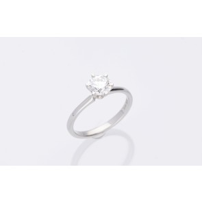 1.01ct Platinum Solitaire Ring