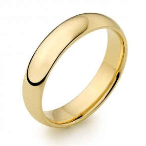 Yellow Gold 5mm Wedding Ring