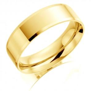 18ct Yellow Gold 6mm Wedding Ring