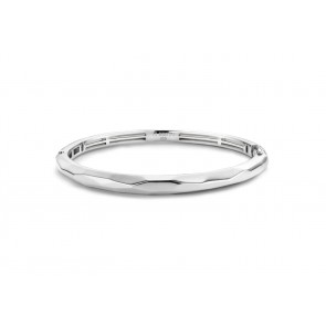 Faceted Hinged Bangle