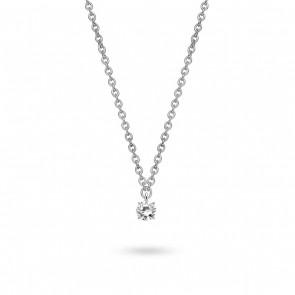 Ti Sento - Silver Necklace