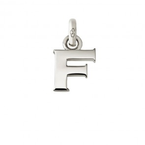 Letter F Charm