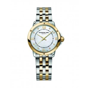 Tango - Stainless Steel & Yellow Gold