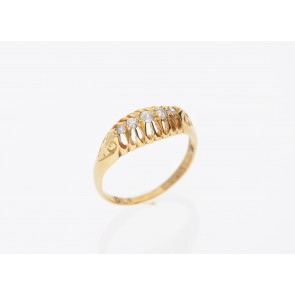Edwardian Old Cut Ring