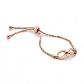Infinity Rose Bracelet