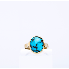 Oval Turquoise Ring