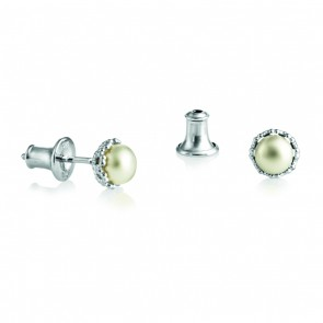 Emma-Kate Stud Earrings in Silver