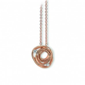 AnnaMaria Cammilli Dune 18 Carat Gold and Diamond Pendant