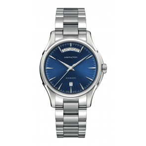 Jazz Master Day Date Automatic Blue Face