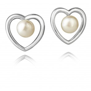 Kimberley Selwood Single Pearl Earrings