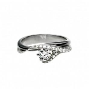 Platinum Vine Ring