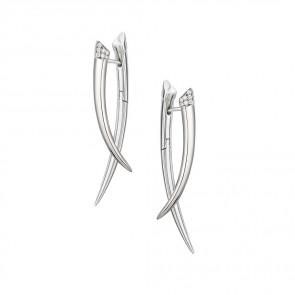 Tusk Diamond Earrings