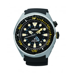 Black Kinetic Seiko Watch